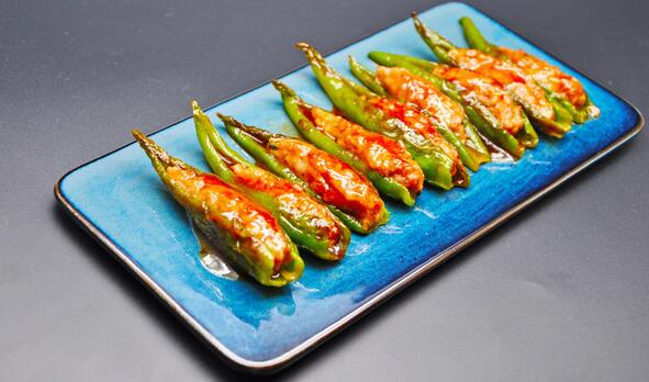 Stuffed Peppers with Fish