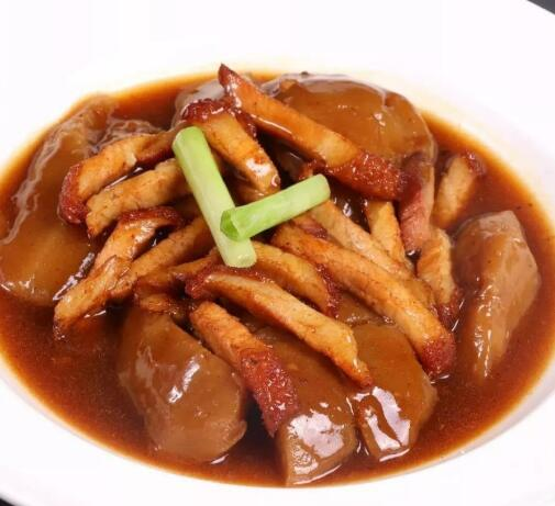 How to cook Cantonese Braised Pomelo Skin?